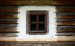 Wooden vintage window Royalty Free Stock Image