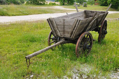Wooden wagon Stock Image