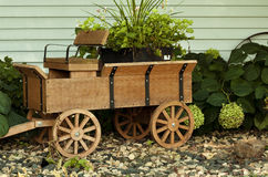 Wooden wagon Royalty Free Stock Images