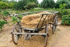 Wooden wagon Royalty Free Stock Photo