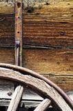 Wooden Wagon Details Stock Photography