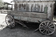 Wooden wagon Royalty Free Stock Image