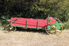 Wooden wagon Stock Photos