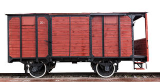 Wooden wagon Royalty Free Stock Photos