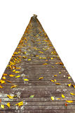 Wooden Walk Way Royalty Free Stock Images
