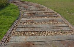 Wooden walkway Royalty Free Stock Photos
