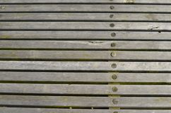 Wooden walkway Stock Image
