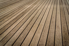 Wooden walkway texture. background old panel Stock Images