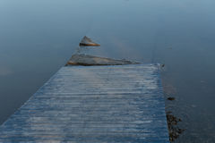 Wooden walkway water Stock Photography