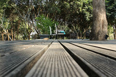 Wooden walkways Stock Photos