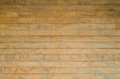Wooden wall. Old wooden wall for background Royalty Free Stock Images