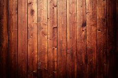 Wooden wall. Texture of a wooden wall with spotlight Royalty Free Stock Photos