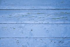 Wooden wall. Blue wooden wall Stock Photography