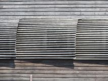 Wooden wall abstract Royalty Free Stock Photos