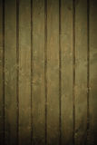 Wooden wall as brown background or texture Royalty Free Stock Image