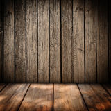 Wooden wall background. Wooden panel wall interior background Stock Photography