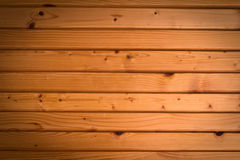 Wooden wall background in a morning light Stock Images