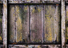 Wooden wall background. Old wood backdrop. Vintage wooden panel, Stock Photography