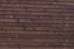 Wooden wall background. Of rough textured timber Stock Photos