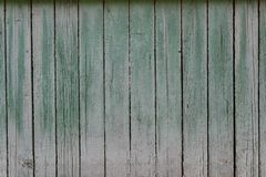 Wooden wall background smooth planks frontally painted royalty free stock photos