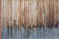 Wooden wall background or texture Royalty Free Stock Images