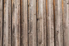 Wooden wall of boards Royalty Free Stock Images