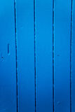 Wooden Wall Cobalt Background Stock Images
