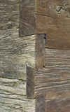 Wooden Wall Corner Royalty Free Stock Images