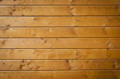 Wooden wall fragment Stock Image
