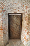 Wooden wall gate Royalty Free Stock Photos