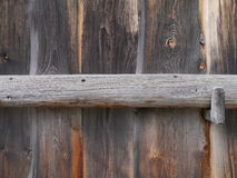 Wooden wall and gate Royalty Free Stock Photos