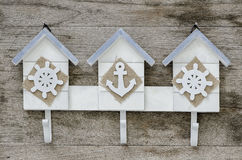 Wooden wall hanger Royalty Free Stock Photos