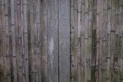 Wooden wall of a Japanese rural house Royalty Free Stock Image