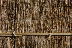 Wooden wall at Japanese rural house Royalty Free Stock Photos