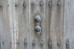 Wooden wall of a Japanese traditional house Stock Photos