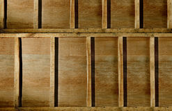 Wooden wall. Royalty Free Stock Image