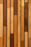 Wooden wall made of planks Royalty Free Stock Photography