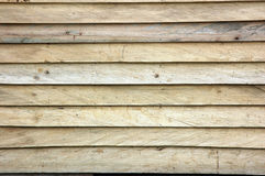 Wooden wall. New  wooden wall textured background Stock Images