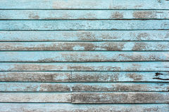 Wooden wall. Old blue plank wooden wall Royalty Free Stock Image