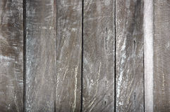 Wooden wall. Old dark wooden wall textured Stock Photography