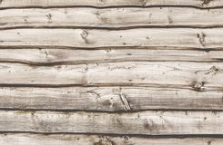 Wooden wall. Old hardwood wall planks background royalty free stock photo