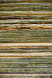 Wooden wall of the old log house Stock Photography
