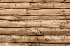 Wooden wall Royalty Free Stock Photos