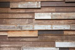 Wooden wall. The old recycled wooden wall in Thailand Stock Image