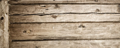 Wooden wall of the old timber Royalty Free Stock Photography