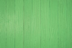 Green wooden panel background Royalty Free Stock Image