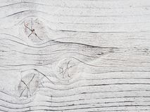 Wooden wall painted white, detail Stock Photos