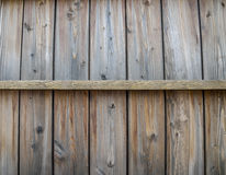 Wooden wall pattern in horizontal Royalty Free Stock Image