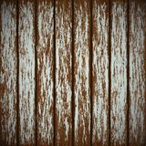 Wooden wall with peeling paint Stock Images