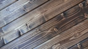 Wooden Wall Planking Frame Texture, Diagonal stock image